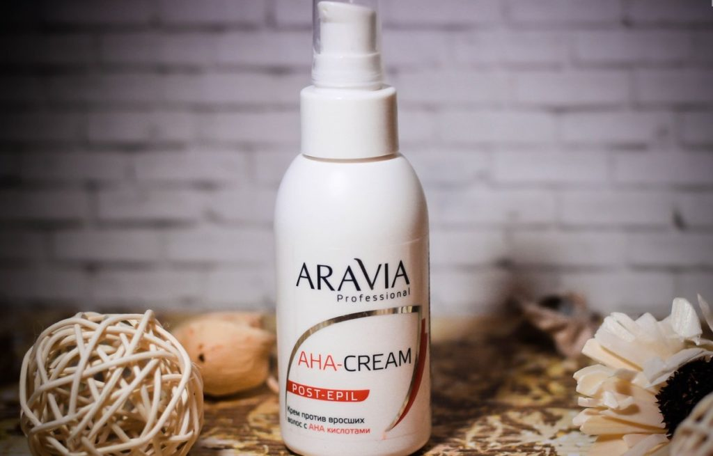 Aravia Professional AHA-cream post-epil